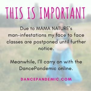 DancePandemicCoronavirusNotice